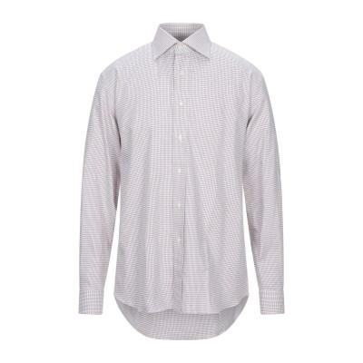 HARRY BROOK シャツ ホワイト 40 コットン 100% シャツ