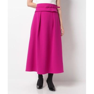 【アルアバイル/allureville】 【Loulou Willoughby】ジョーゼットベルト付きスカート