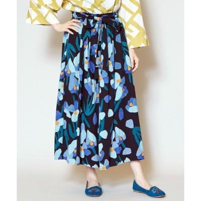 スカート 【カヤ】シクラメンロングスカート