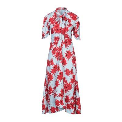 プロエンザスクーラー PROENZA SCHOULER 7分丈ワンピース・ドレス スカイブルー 0 レーヨン 100% 7分丈ワンピース・ドレス