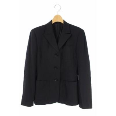 【中古】テーラードジャケット 黒