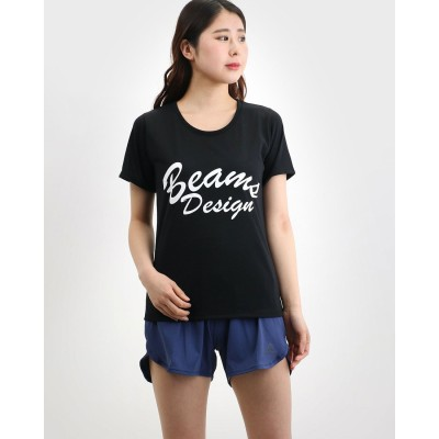 ティゴラ TIGORA レディース フィットネス 半袖Tシャツ TIGORA/BEAMS DESIGN ドライロゴTシャツ TR-9P2410TS