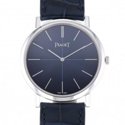 ピアジェ その他 アルティプラノ 60周年記念モデル 世界限定460本 G0A42107 ブルー文字盤 メンズ 腕時計 新品