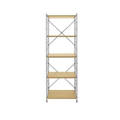 [ベルメゾン] ラック ダブルワイヤー オープンシェルフ・ラック 新生活 ライトナチュラル I 幅60 高さ172cm