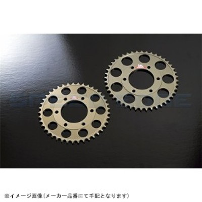 [K-10] ISA アイエスエー:リアスプロケット 525-42T ZX-10R/Z1000 etc