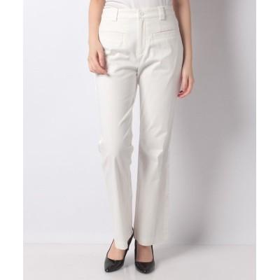【ベイクルーズグループアウトレット】 cool line pants レディース ホワイト 36 BAYCREW'S GROUP OUTLET