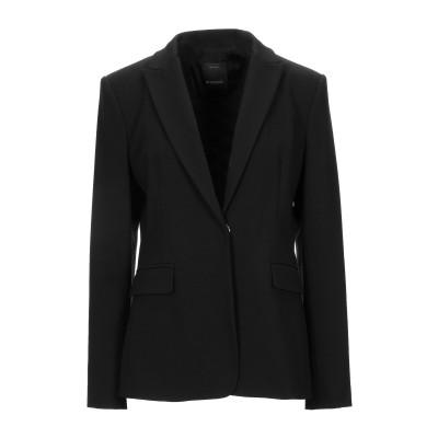 ピンコ PINKO テーラードジャケット ブラック 42 レーヨン 67% / ナイロン 28% / ポリウレタン 5% テーラードジャケット