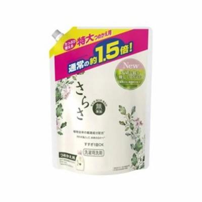 さらさ 洗濯洗剤ジェル 特大サイズ 詰替用 1200g  4902430366564