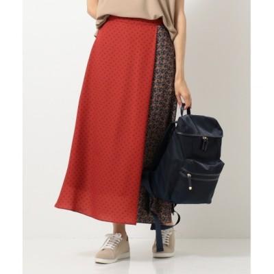 【エニィスィス/any SiS】 【UVケア】ミックスパターンサロン スカート
