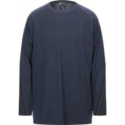 ワイスリー Y-3 メンズ Tシャツ トップス t-shirt Dark blue