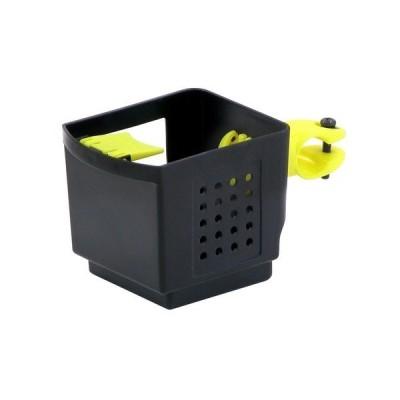 ドリンクホルダー 〔OGK〕 PBH-003 ブラック(黒)&イエロー(黄) 〔自転車パーツ/アクセサリー〕〔代引不可〕