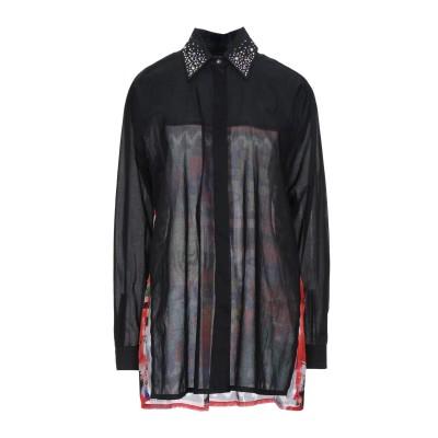 MARANI シャツ ブラック S コットン 100% シャツ