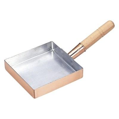厨房用品 銅玉子焼関東型 [ 6寸18 x 18 x 3.3cm ] 料亭 旅館 和食器 飲食店 業務用