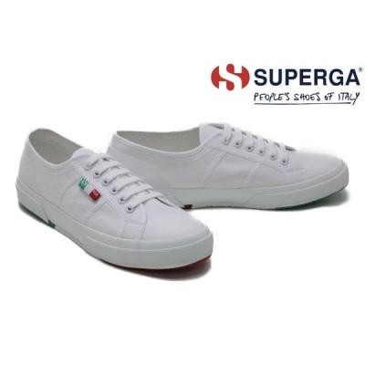 スペルガ / SUPERGA メンズ スニーカー s111zyw whit スニーカー ホワイトイタリア