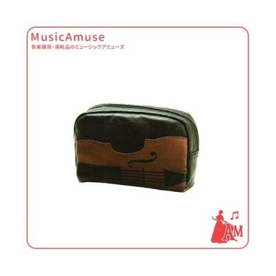 バイオリン ポーチ ブラック LN8615-01  ミュージックアミューズ