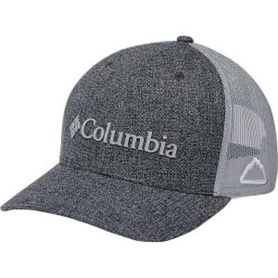 コロンビア メンズ 帽子 アクセサリー Columbia Mesh Snap Back Hat Grill Heather / Weld Logo
