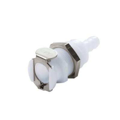 超小型カップリング パネルマウント ボディ 9.5mm(3/8インチ)  PLCD16006 1個