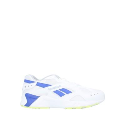 リーボック REEBOK スニーカー&テニスシューズ(ローカット) ホワイト 5 紡績繊維 スニーカー&テニスシューズ(ローカット)