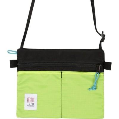 トポ デザイン Topo Designs レディース ショルダーバッグ バッグ Accessory Shoulder Bag White/Turquoise