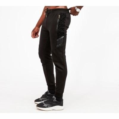 グロリアスギャングスタ Glorious Gangsta メンズ ジョガーパンツ ボトムス・パンツ sherwin fleece jogger Black