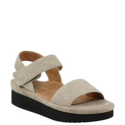 ラモールドピード レディース サンダル シューズ Abrilla Suede Platform Wedge Sandals