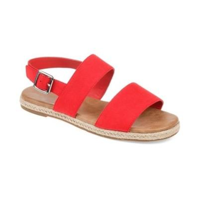 ジャーニーコレクション サンダル シューズ レディース Women's Georgia Sandals Red