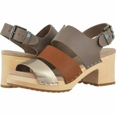 トムス TOMS レディース クロッグ シューズ・靴 Phoebe Clog Taupe Grey