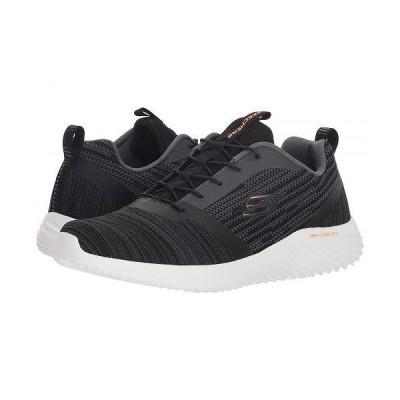 SKECHERS スケッチャーズ メンズ 男性用 シューズ 靴 スニーカー 運動靴 Bounder - Black