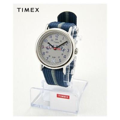 腕時計 メンズ TIMEX タイメックス ウィークエンダー ニューヨークヤンキースMLBトリビュートコレクション TW2T54900 ニッセン