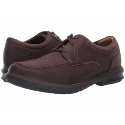 Clarks クラークス メンズ 男性用 シューズ 靴 オックスフォード 紳士靴 通勤靴 Rendell Walk Dark Brown Leather【送料無料】