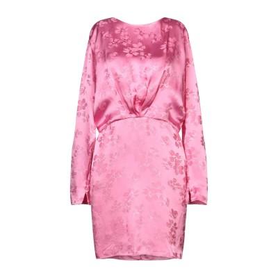 アティコ THE ATTICO ミニワンピース&ドレス ピンク 38 レーヨン 100% ミニワンピース&ドレス