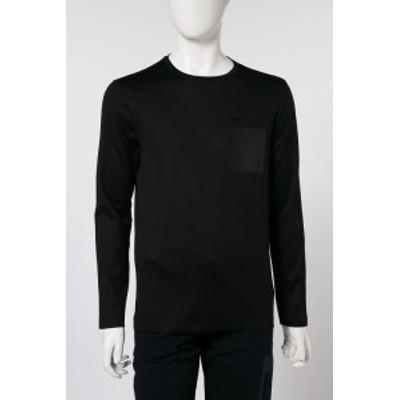 ポールアンドシャーク PAUL&SHARK ロングTシャツ ブラック メンズ (P18P1531SF) 送料無料 2018年春夏新作