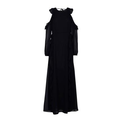 GLAMOROUS ロングワンピース&ドレス ブラック XS ポリエステル 100% ロングワンピース&ドレス