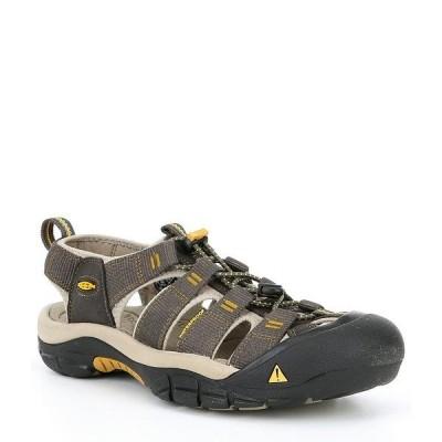 キーン メンズ サンダル シューズ Newport H2 Water Sport Shoes Raven/Aluminum