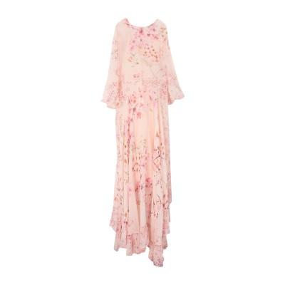 ツインセット シモーナ バルビエリ TWINSET ロングワンピース&ドレス ローズピンク 40 ポリエステル 100% ロングワンピース&ドレス