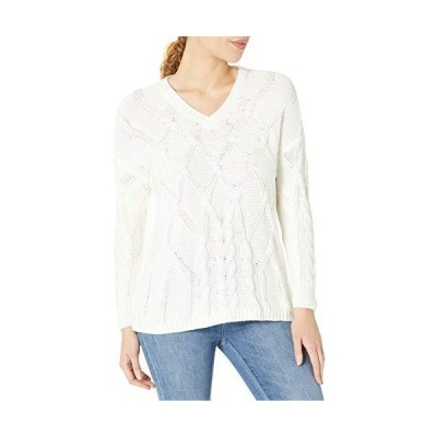 Chaus Women's Pullover Sweater, Antique White, Medium並行輸入品 送料無料