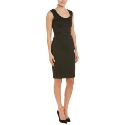 ニッサ ワンピース トップス レディース NISSA Sheath Dress black