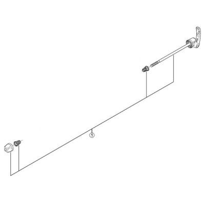 [1]クイック軸組立品(133mm)