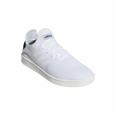アディダス コートアダプト2.0U COURTADAPT2.0 U (F36416) メンズ レディース スニーカー : ホワイト×ネイビー adidas