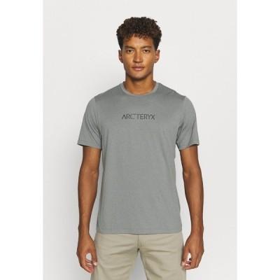 アークテリクス Tシャツ メンズ トップス REMIGE WORD MEN'S - Print T-shirt - cryptochrome