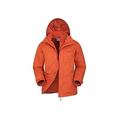 Mountain Warehouse Fell メンズ 3 in 1 防水ジャケット 冬 US サイズ: Small カラー: オレンジ