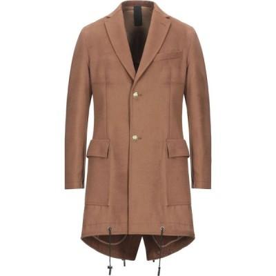 パーク8 PARK8 メンズ コート アウター Coat Brown