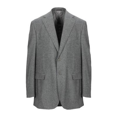 QUERINI テーラードジャケット グレー 56 ウール 100% テーラードジャケット