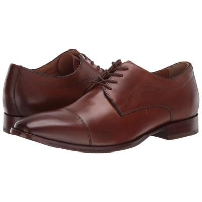 ジョンストン&マーフィー Johnston & Murphy メンズ 革靴・ビジネスシューズ シューズ・靴 McClain Cap Toe Dress Oxford Tan Full Grain