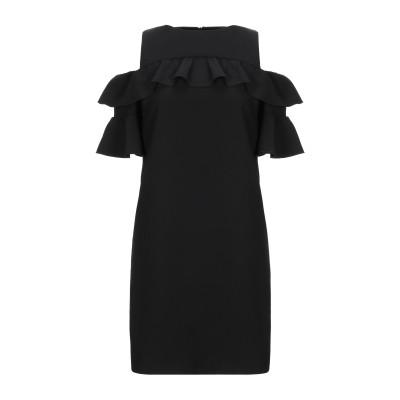 LAB ANNA RACHELE ミニワンピース&ドレス ブラック 40 ポリエステル 93% / ポリウレタン 7% ミニワンピース&ドレス