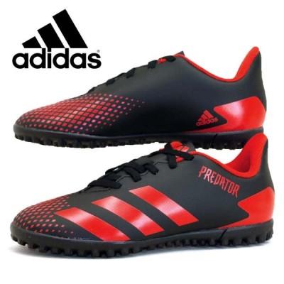 [45%OFF] アディダス adidas PREDATOR 20.4 TF J プレデター EF1956 黒赤 サッカー フットサル ターフトレイナー ジュニア/レディース