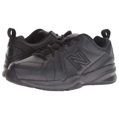 ニューバランス New Balance メンズ スニーカー シューズ・靴 608v5 Black/Black