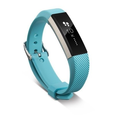 11色 シリコンウォッチバンド Fitbitアルタ HRスマートリストバンドウォッチ 交換 リストバンド シリコ スカイブルー