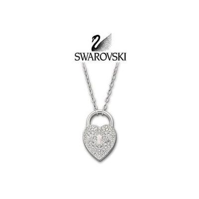 海外セレクション ジュエリー 125 スワロフスキ Signed クリスタル シルバー ネックレス ハート SURELY  #1156310