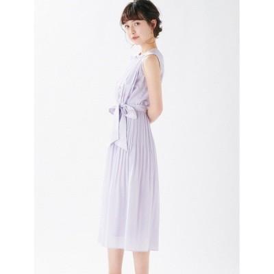 ドレス バストギャザーデザインプリーツDress